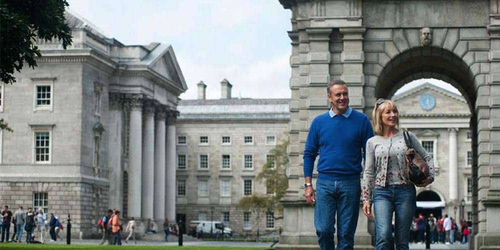 Couple at Trinity College